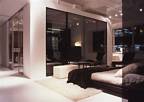 Showroom Bedroom by Italian Kitchen New York Showroom Modern Bedroom