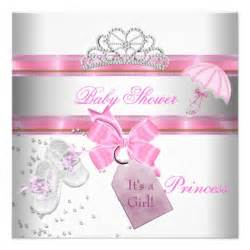 Baby shower girl white pink princess tiara magical 5 25x5 25 square
