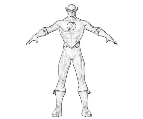Flash Flash Profil Jozztweet Flash Coloring Pages