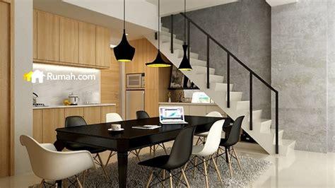 desain rumah loft inspirasi desain interior hunian bergaya mezzanine rumah