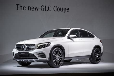 mercedes coupe mercedes glc coupe looks in the flesh