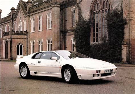 1989 Lotus Esprit 1989 Lotus Esprit Vehicles