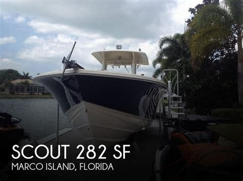 deck boats for sale marco island for sale used 2009 scout 282 sf in marco island florida
