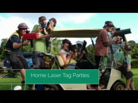 home laser tag birthday at home