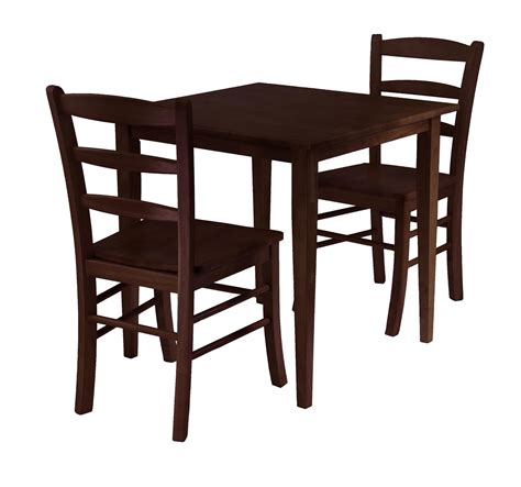 Dining Table With Two Chairs Groveland 3pc Square Dining Table With 2 Chairs Ojcommerce