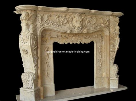 fireplace mantel carving supplier china fireplace marble carving mantel frp509 china