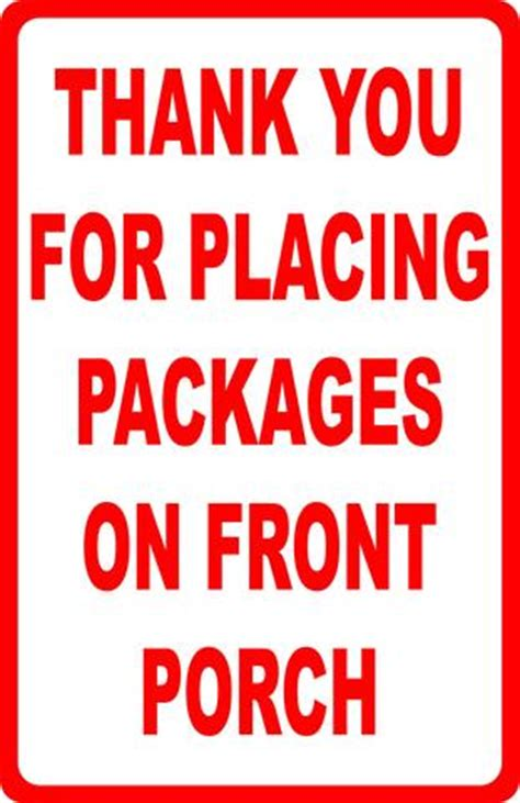 Does Ups Leave Packages At The Door by Deliver All Packages To Back Door Sign Signs By