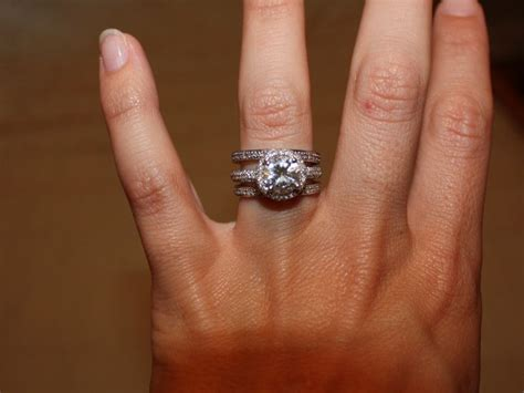 brilliant engagement ring with micro pave halo