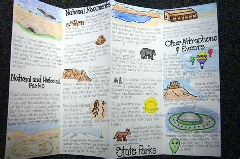 How To Make A Travel Brochure With Paper - best photos of student made travel brochures 13 colonies