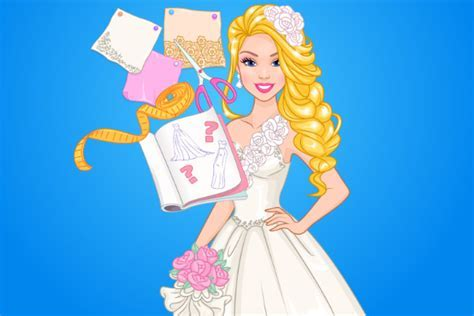 Barbie Wedding Dress Design   Decoration Games Doli Doli