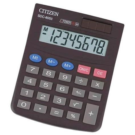 Kalkulator Citizen Sdc 805 kalkulator citizen sdc 805 8 miejs biuronet warszawa