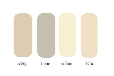 what color is bone what color is ivory bbqpr