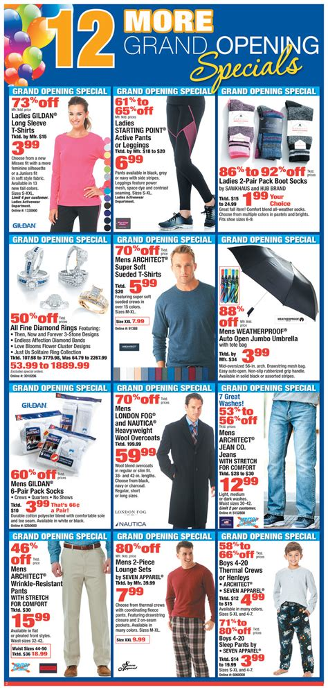 Boscov S Gift Card Balance Check - boscov s weekly ad october 12 october 22 2017