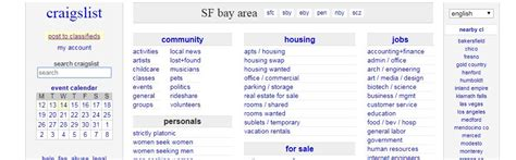 craigslist usability testing  redesign suggestions