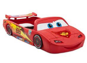Toddler Car Bed Mattress Delta Children Cars Lightning Mcqueen Toddler