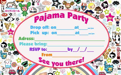 party invitation design ideas 14 awe inspiring sleepover birthday party invitations