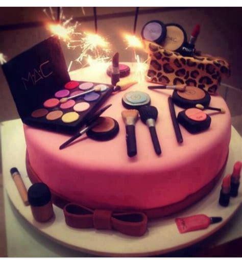 makeup themed birthday cake makeup birthday cake birthday pinterest