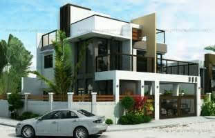 2 story modern house plans ester four bedroom two story modern house design