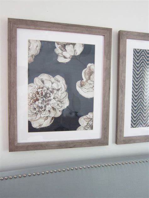 Navy Blue Bedroom Decorating Ideas 25 unique framed fabric art ideas on pinterest fabric