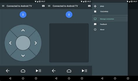 remote app for android launches android tv remote service app to let you tv via your android phone and