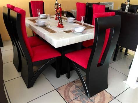 comedor  sillas onix rectangular gran fabrica de muebles