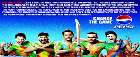 Pepsi Mba Internships by Pepsi Cricket World Cup 2011 Caign Change The