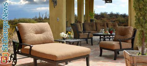 upholstery st george utah upscale outdoor furniture showroom opens in st george