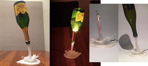 Wine Bottles With Lights Repurpose The Bottle From Your Favorite Wine 3d Print