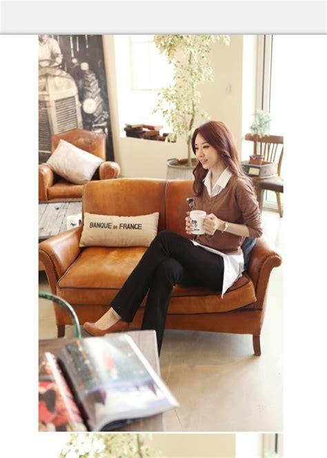 atasan wanita korea import terbaru 2014 model terbaru jual murah import kerja