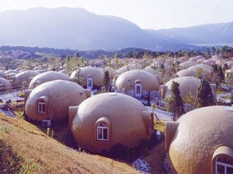 dome houses of japan made of earthquake resistant concept earthquake resistant homes