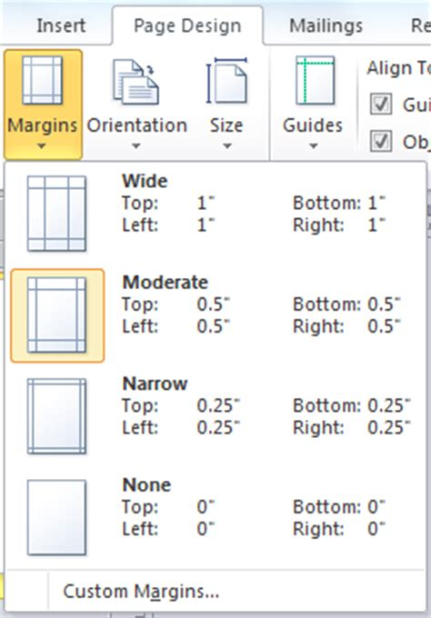 layout guides publisher 2007 design and layout using margins and guides in your