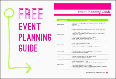 template for planning an event 5 printable church event planning checklist