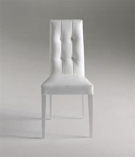 sedie bianche design sedia design in ecopelle modello quot dallas quot