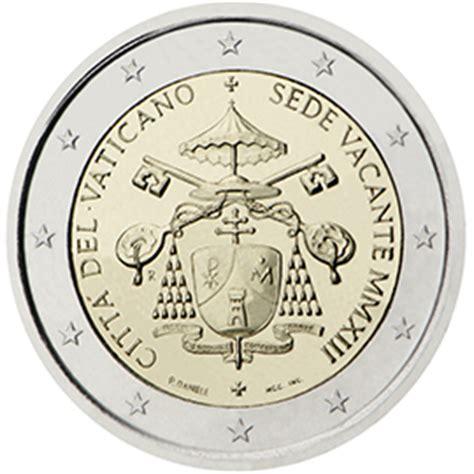 coin sede centrale vatican 2 coin sede vacante 2013 coins tv