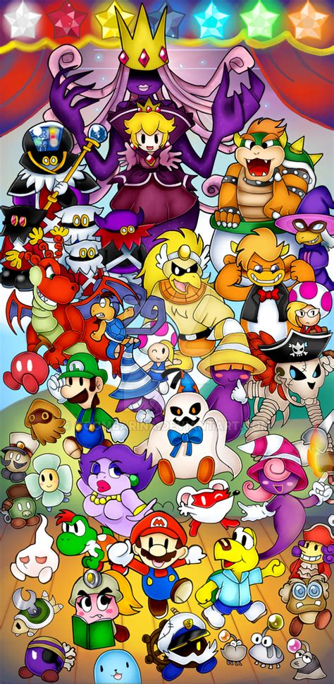 Paper Mario And The Thousand Year Door by Paper Mario The Thousand Year Door By Goombarina On Deviantart