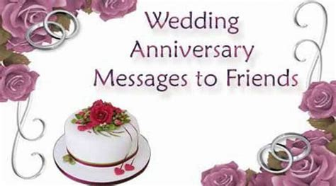 Wedding Anniversary Messages to Friends