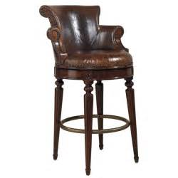 furniture the best beautiful leather swivel bar stool with