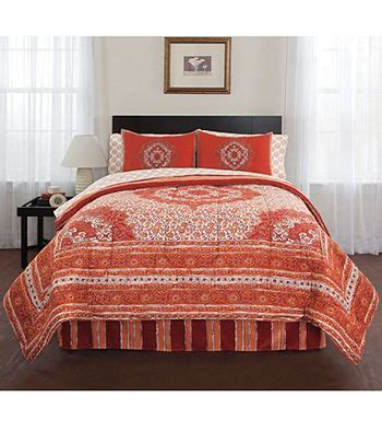 livingquarters bandana 8 pc comforter set herberger s