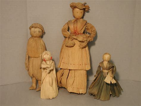 history corn husk doll cornhusk crafts