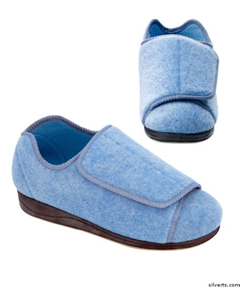 Slippers 12 Additional womens wide adaptive diabetic edema slippers bysilvert s sizes 6 12 occupational