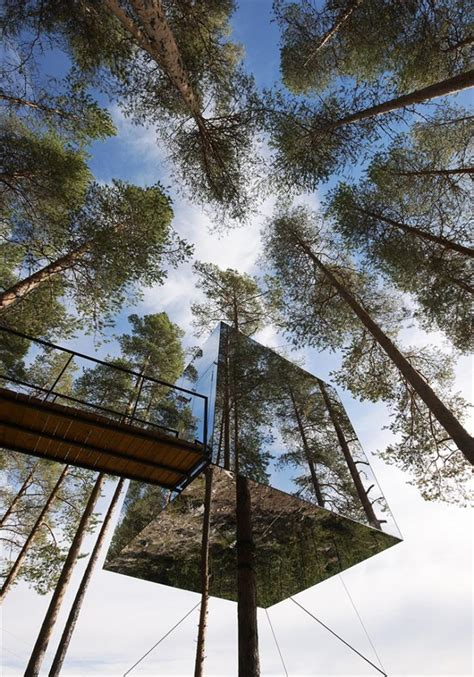 archi choong treehotel sweden unique unusual tree hotel harads sweden most beautiful