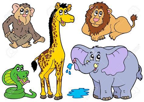 imagenes animales varios cartoon zoo animals clipart 83
