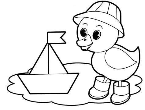 coloring page of on preschool coloring pages of animals