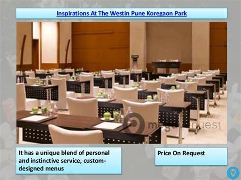 Best wedding venues in koregaon park pune
