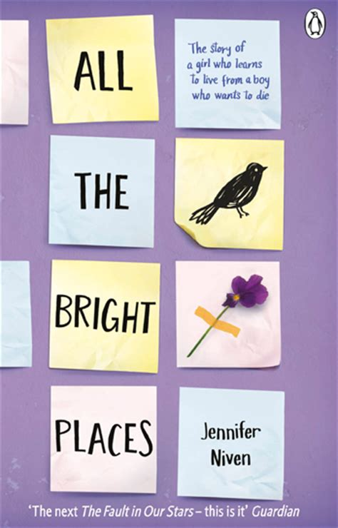 all the bright places the zoella book club all the bright places by jennifer niven whsmith blog
