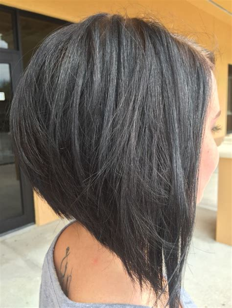 printable short stack inverted angled haircuts the 25 best stacked inverted bob ideas on pinterest