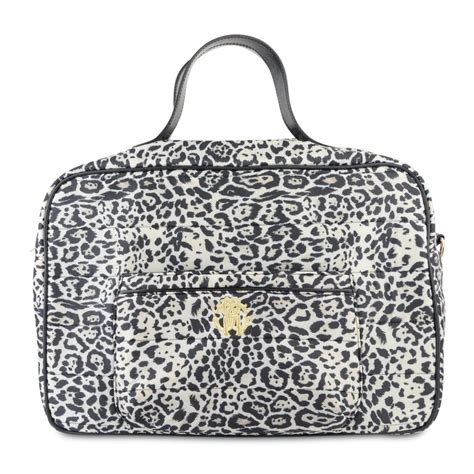 Roberto Cavalli Leopard Purse by Roberto Cavalli Baby Leopard Print Changing Bag