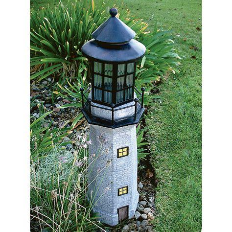 solar garden decorative lighthouse solar lighthouse lawn ornaments images