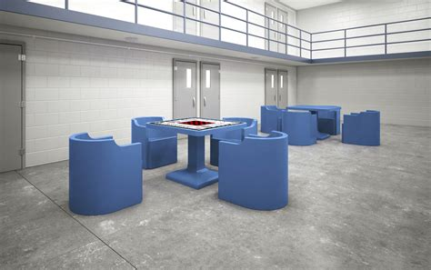 Prison Furniture by Table Max Secure Institutional Furniture Prison Furniture Detention Furniture