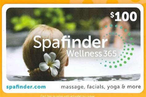 total body clinic gift cards - Spas That Accept Spafinder Gift Cards